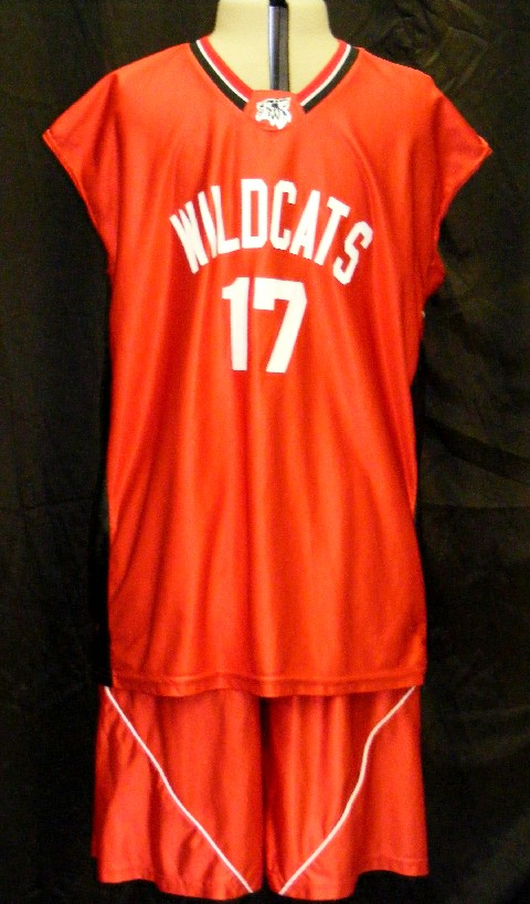 ff561abb1 High School Musical Rental Costumes Official Team Basketball Uniforms